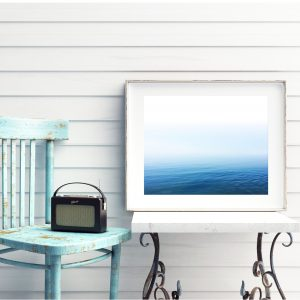 Calm Foggy Ocean Horizon Photography