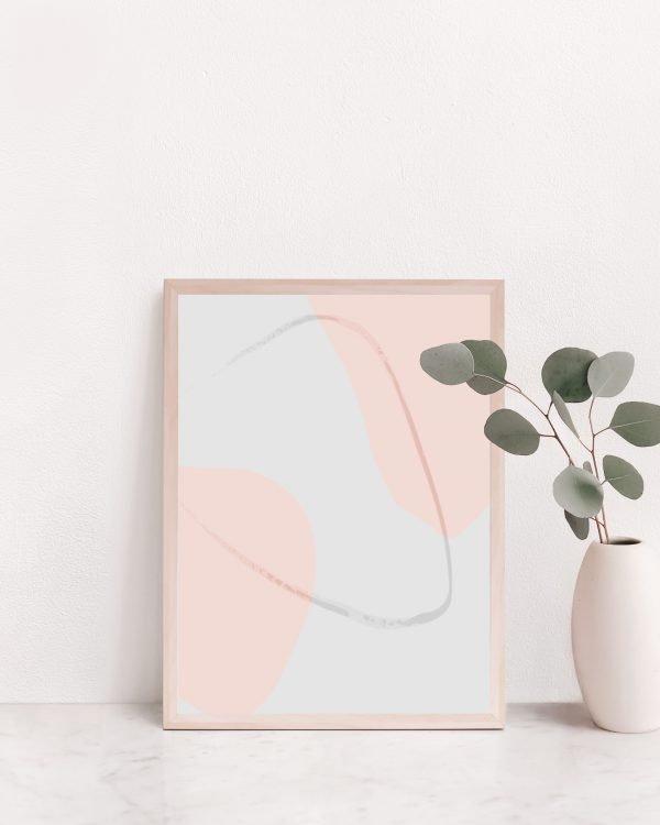 Neutral Color Block Wall Art